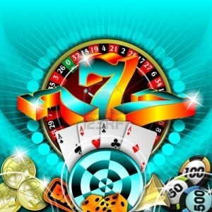 7896681-gambling-illustration-with-casino-elements-on-blue-background