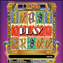 play slot game Cleopatra