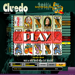 play slot game Cluedo