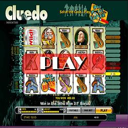 play slot game Cluedo