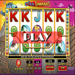 play slot game Cool Bananas