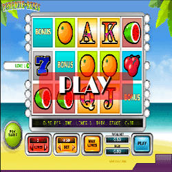 Paradise reels slot video game