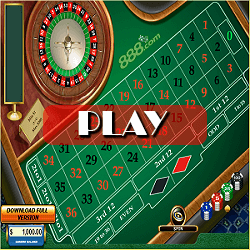Roulette 888 flash game