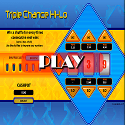 Triple Chance Hi-Lo game