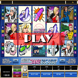 slot game agent Jane blonde